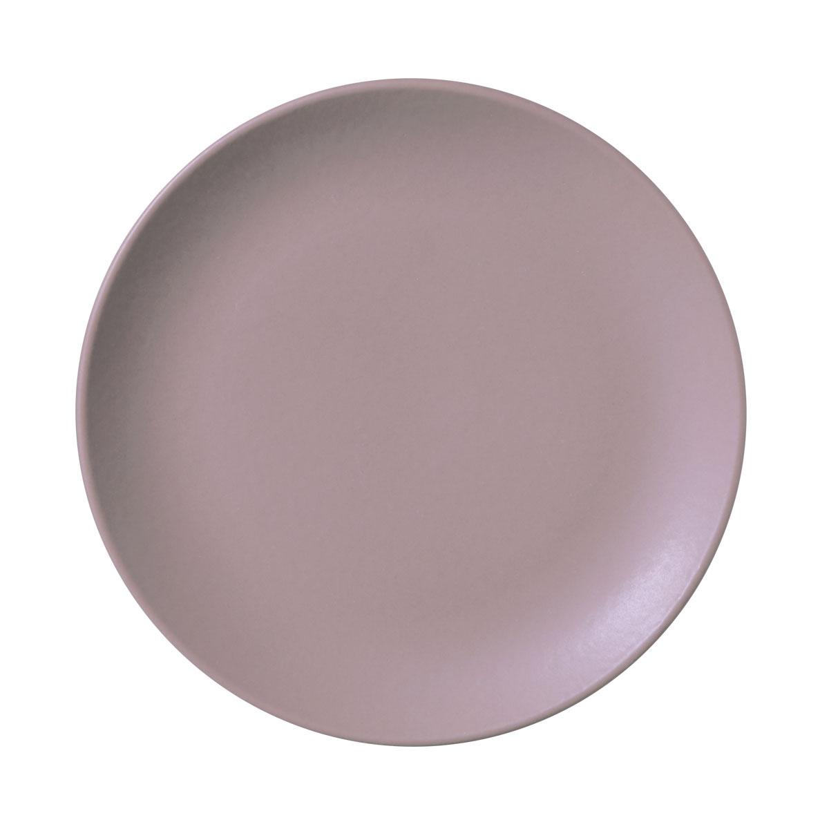 Prato Sobremesa 01 Peça Coup Stoneware Mahogany 20 cm Porto Brasil