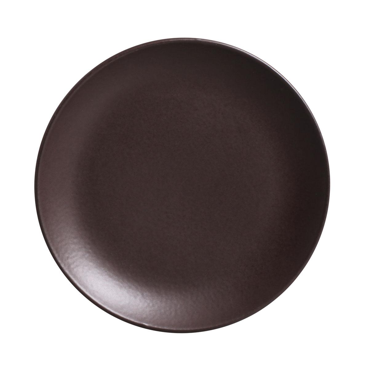 Prato Sobremesa 01 Peça Coup Stoneware Oak 20 cm Porto Brasil