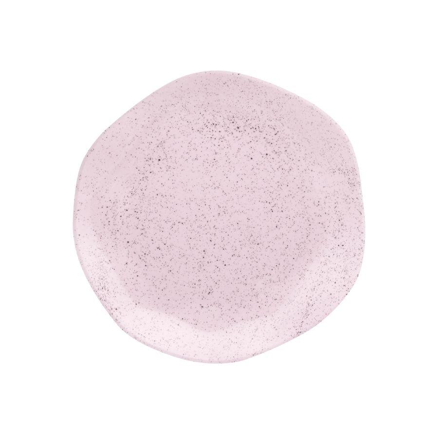 Prato Sobremesa 01 Peça Ryo Pink Sand 21,5cm Oxford