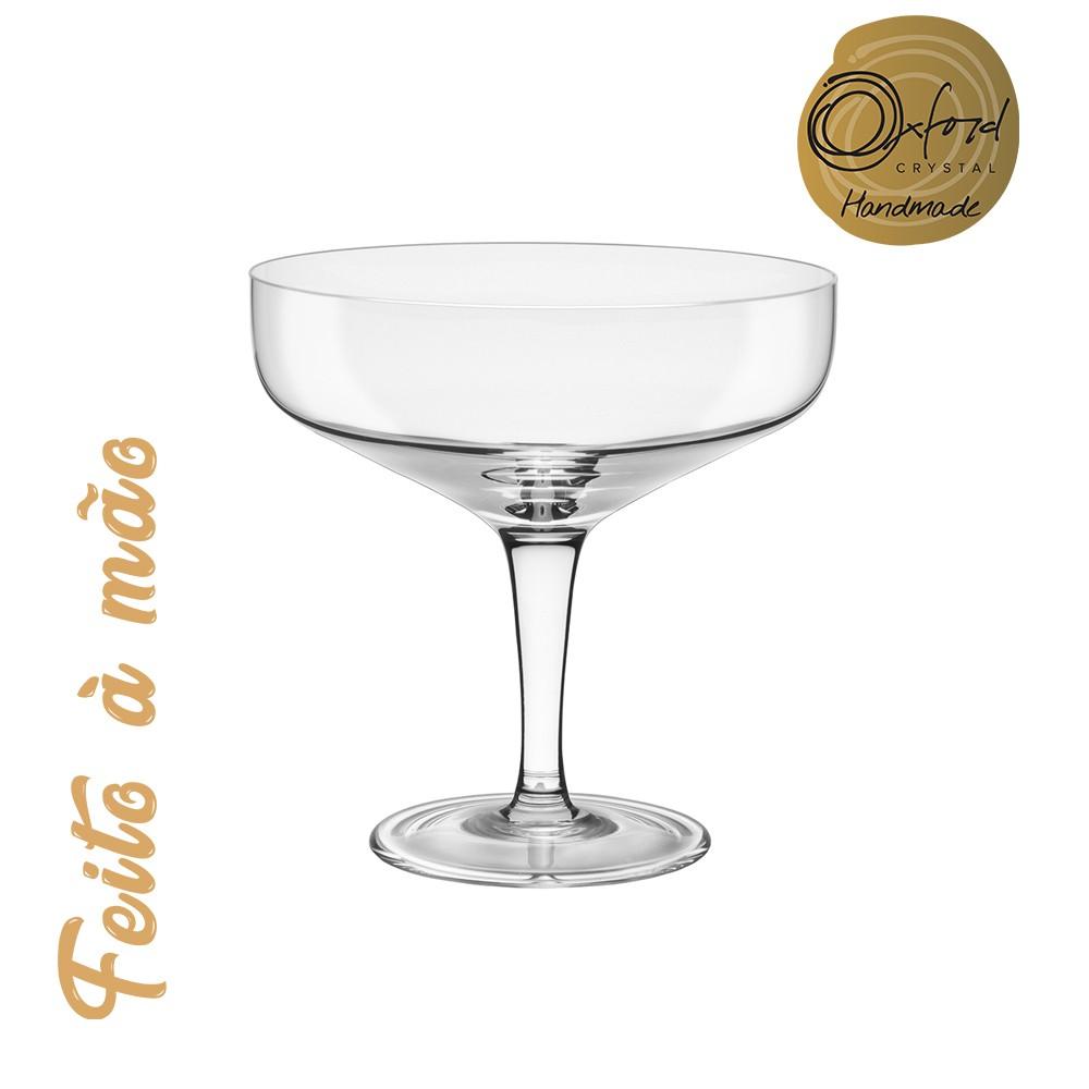 Taça para Espumante 01 Peça em Cristal  Vintage  220 ml Oxford