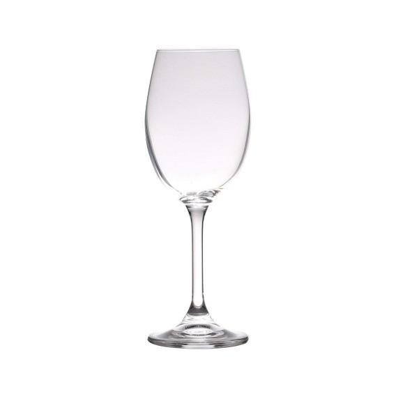Taça para Vinho Tinto 01 Peça em Cristal Ecológico Klara Sylvia 350 ml