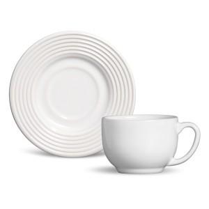 Xícara de Chá 01 Peça Argos Branco Porto Brasil