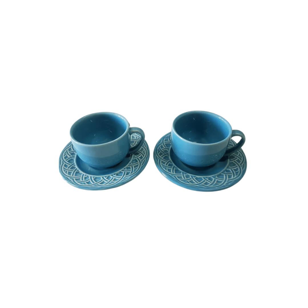 Xicara de Chá 01 Peça La Tavola Azul Porto Brasil