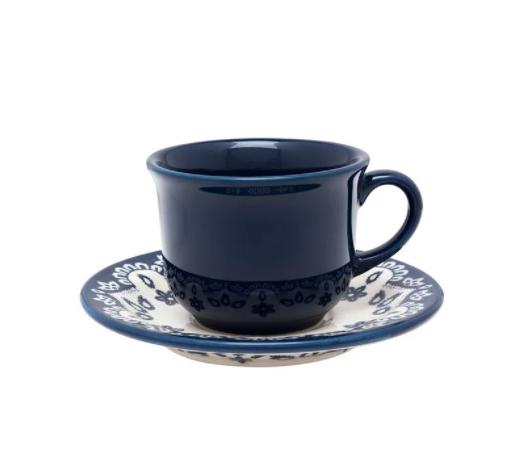 Xícara de Chá com Pires Mail Order Energy 200ml Oxford
