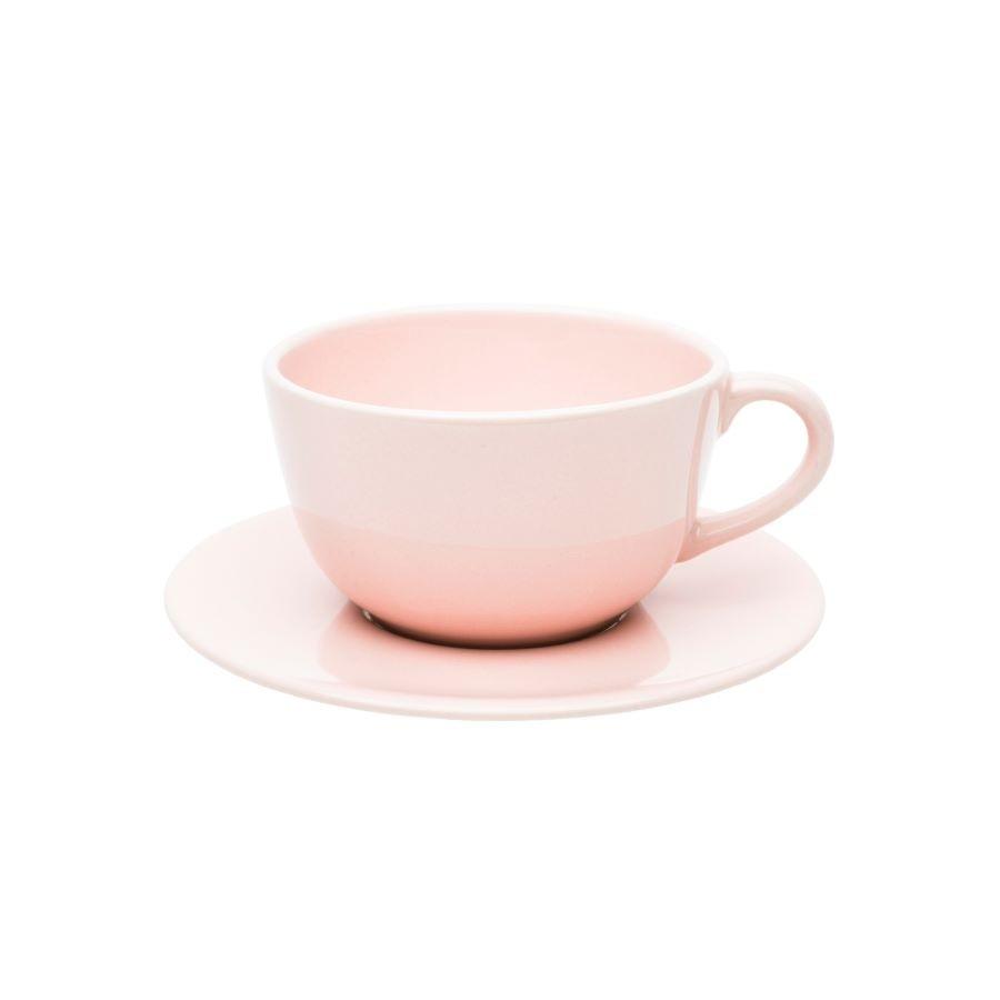Xícara de Chá com Pires Unni Milenial Oxford Porcelanas