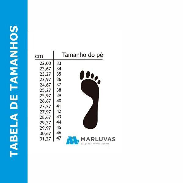 Bota Marluvas 110VFLEX PVC Preta Sem Forro CA 42291