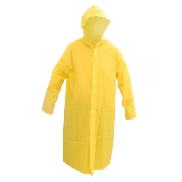 Capa de Chuva Capseg PVC Forrado Amarela CA 11125