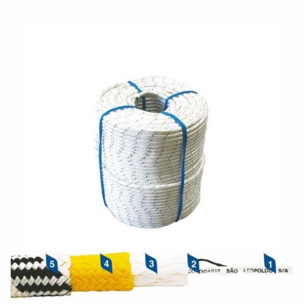 Corda Poliamida Trançada Para uso em Trava Quedas 12mm