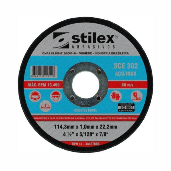 Disco De Corte Stilex SCE 302 Inox