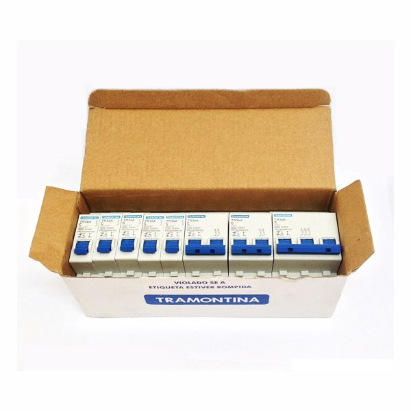 Disjuntor Tramontina 58012/004 TR3KA 10 Amperes Bifásico Curva C