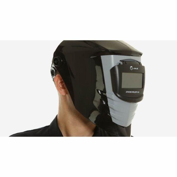 Máscara de Solda Libus StrongWelder 500 Visor Articulado com Catraca CA 42026