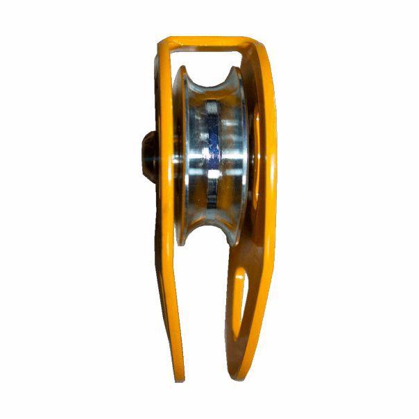 Polia Simples Dully DLP-01 Aço Resistência 30kn para Uso em Corda 12mm