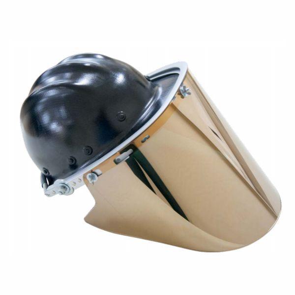 Protetor Facial Protenge Better Dourado 4.0 com Capacete Celeron CA 37521
