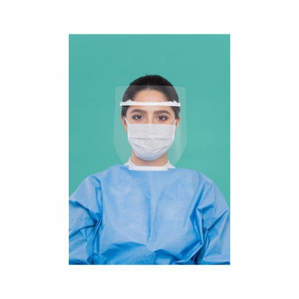 Protetor Facial Robuste Face Shield Partículas Líquidas RCD 356 Uso Hospitalar