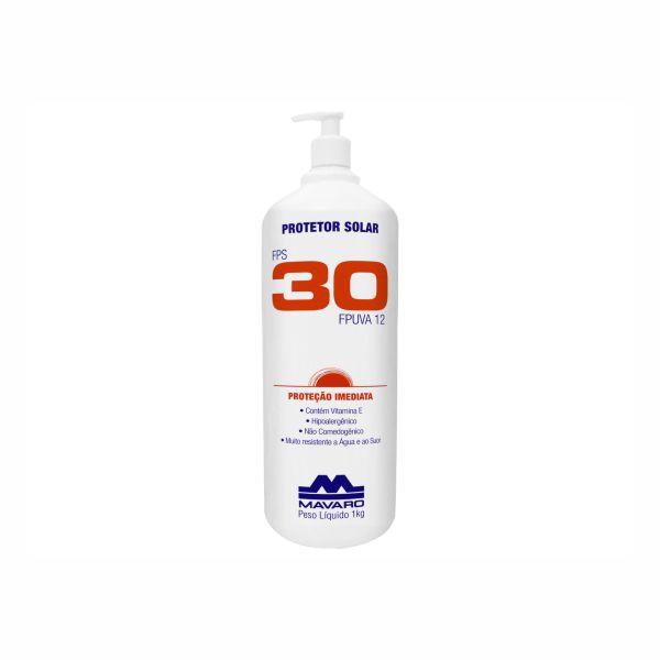 Protetor Solar FPS 30 Mavaro Profissional