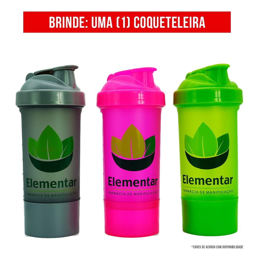 Kit  Whey (Baunilha) + Creatina + Glutamina | Ganhe Coqueteleira