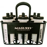 Porta Squeeze para 6 Garrafas Magussy