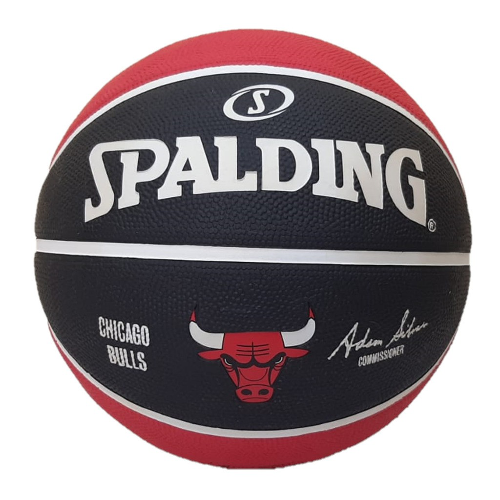 Bola de Basquete Spalding NBA Chicago Bulls Tam. 7