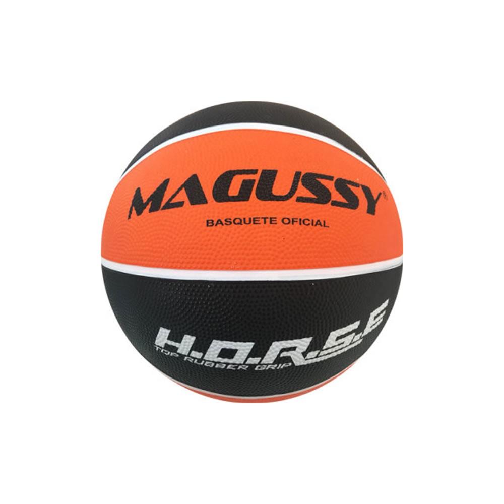 Bola Para Basquete Magussy H.o.r.s.e 7 Top Rubber Grip