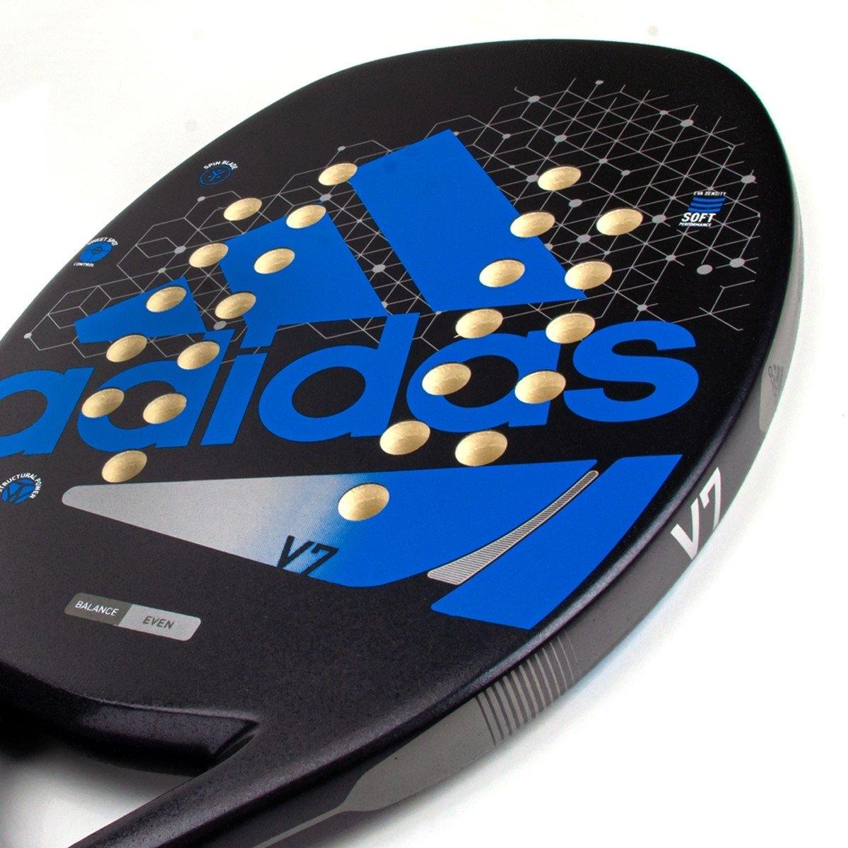 Raquete de Beach Tennis Adidas V7 Azul