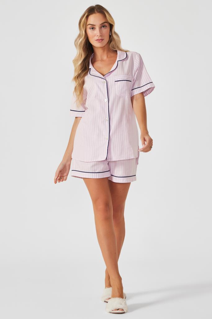 Pijama curto Pink Desire