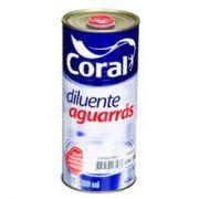 Aguarrás Coral Incolor 900 ml