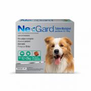 Antipulgas e Carrapatos NexGard 68 mg para Cães de 10,1 a 25 Kg C/1 Comprimido