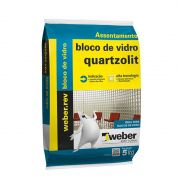 Argamassa Para Bloco de Vidro Branca 5kg Quartzolit