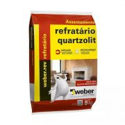 Argamassa Para Tijolos Refratário 5Kg Quartzolit