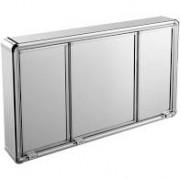 Armário Astra de Alumínio Com 3 Portas de Sobrepor 73 x 45 x 11,3 Ref LBP14/S