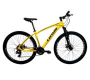 Bicicleta Cairu Aluminío Aro 29 Lotus Amarelo e Preto 17.5 Ref 319106