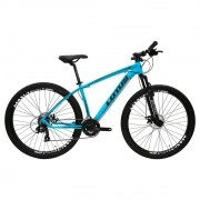 Bicicleta Cairu Aluminío Aro 29 Lotus Azul e Preto 19  Ref 317325