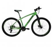 Bicicleta Cairu Aluminío Aro 29 Lotus Verde e Preto 19 Ref 317322