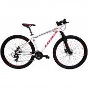 Bicicleta Lotus CXR Aro 29 Branco/Vermelho