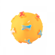 Brinquedo para Cães Bola com Osso Vinil GR210815
