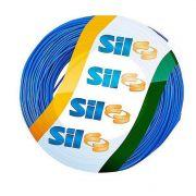 Cabo Flexível Sil 1.5 mm 750 V Azul Rolo Com 100 Metros