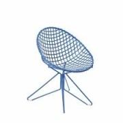 Cadeira de Ferro Butzke Azul