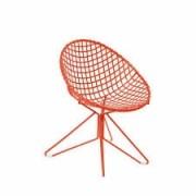 Cadeira de Ferro Butzke Vermelha