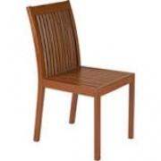 Cadeira de Madeira Tramontina em Jatobá com Acabamento Eco Blindage sem Braços