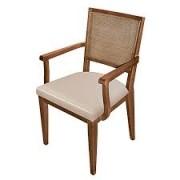 Cadeira Pollus Ratan Lorenza Com Braço Ref T.2.69.017P
