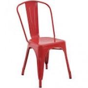 Cadeira Rivatti Iraon Sem Braço Vermelha Ref 3.650.1547