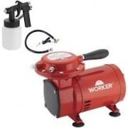 Compressor Ar Direto Com Kit Worker