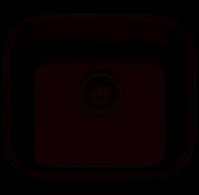 Cuba em Aço Inox Tramontina Retangular 40x34cm Alto Brilho