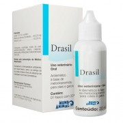 Drasil 20ml Antiemético Mundo Animal