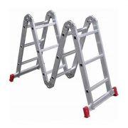 Escada Worker Alumínio 4 x 3 Multifuncional