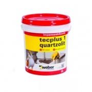 Impermeabilizante Tecplus 1 Quartzolit 18 Litros