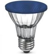 Lâmpada Flc Halógena Led Par 20 1W Azul 220V