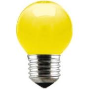 Lâmpada Incandescente Taschibra Bolinha 15W Amarela 220V