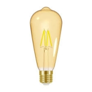 Lâmpada LED Taschibra 4W Filamento Vintage ST64