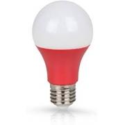 Lâmpada Ourolux Led 7W Colors Vermelha Bivolt